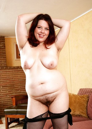 Mature BBW in mesh bodystocking revealing saggy tits and hairy cooter