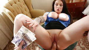European first timer Harmony Reigns receiving hardcore fuck and cumshot