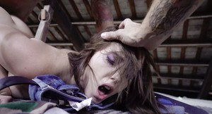 European teen Zoe Doll taking hardcore fucking after giving blowjob