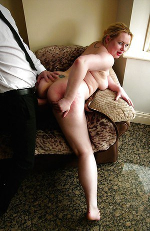 Amateur European BBW with big tits giving blowjob during hardcore sex