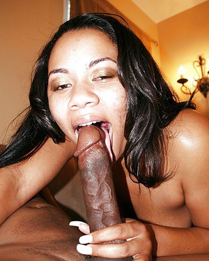 Black plumper Bonita Butterfly sucking and fucking huge black dick