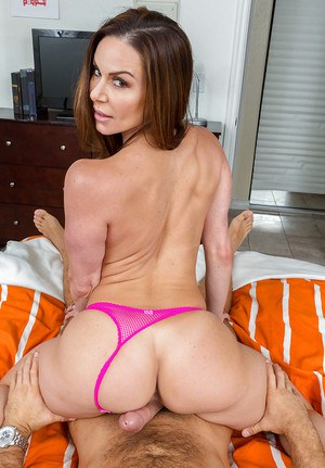 MILF Kendra Lust flaunting fake tits while fucking big cock POV style