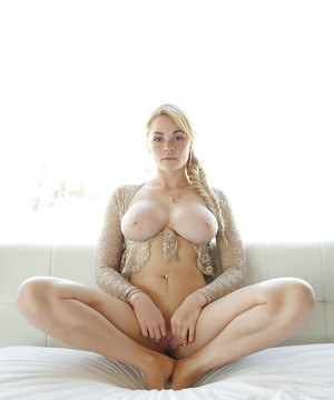 Freckle faced ex-gf Skyla Novea whipping out amazing all natural boobs