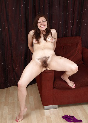 Lacey loves touching her hairy mature pussy during this top solo
