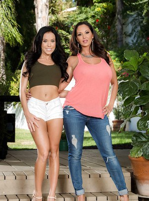 Brunette MILF Ava Addams enjoys spicy Megan Rain in a complete nudity special