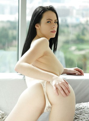 Ex-girlfriend Veronica Radke showing off tight ass and puffy pussy