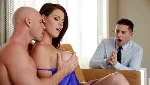 Hot wife Peta Jensen caught having sex with well hung man by husband