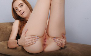 Amateur with tiny tits Kasey Cole amazing pussy solo play on cam