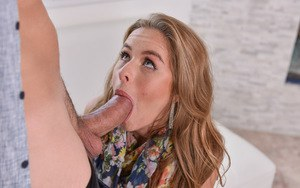 Young slut Lilly Ford stripped naked and penetrated by a large cock