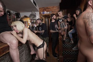 Naked girls sharing the cocks in extra harsh XXX hardcore group porn