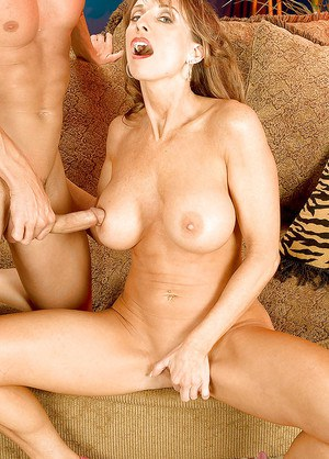 Bibette Blanche gives heaf on man huge cock then delights with rough sex