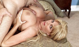 Huge tits Penny Porsche moans with a giant cock smashing her fat pussy