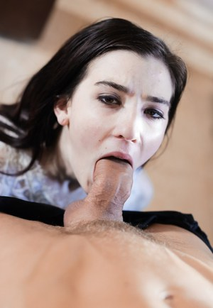 Brunette pornstar Jenna Reid taking it hard from guy with long cock