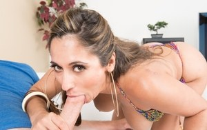 Cougar reena sky wants to blow the poolboy 2