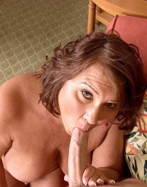 Older cougar Suzie Wood sucks and fucks a young boy just like she always has