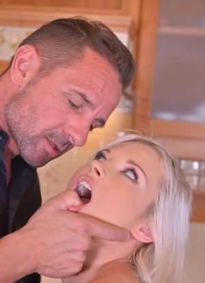 Kinky couple get their funk on by using their female sex slave as they see fit