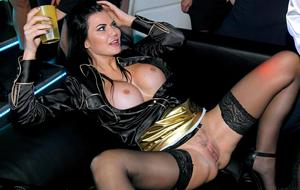 Pornstars dress in cosplay outfits for crazy group sex at adult party