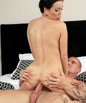 European pornstar with big fake tits Patty Michova cannot stop jumping on cock