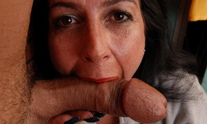 European amateur babe Nina Swiss gets her hairy beaver screwed and creamed