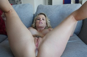 Dirty blonde MILF Cory Chase drips jizz from asshole after hard anal sex