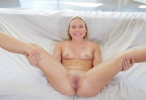 Alyssa Cole naughty cock sucking and heavy missionary in a romantic XXX play