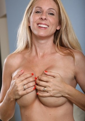 Angela Attison loves to touch her wet pussy and feel it getting warm