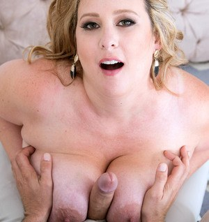 Older SSBBW Amiee Roberts pleases her guys cock any which way she can