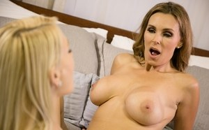 Passionate lesbian porn in romantic scenes with Tanya Tate and Skylar Madison