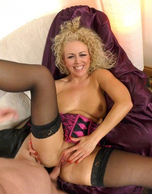 European first timer Rebecca Smyth grins and bares a hard anal fucking