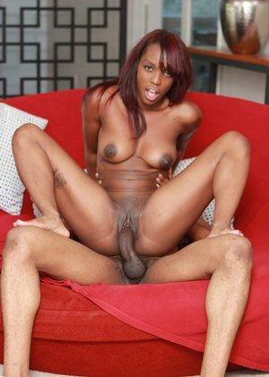 Wicked ebony pornstar Kim Kandy is a brilliant cowgirl and a great cock sucker