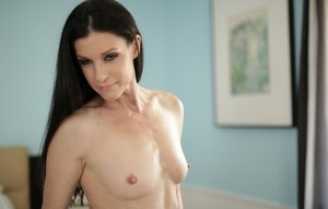 India Summer shows off her mature forms in sensual scenes of raw nudity