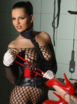 Amazing lesbians using toys in harsh scenes of oral BDSM
