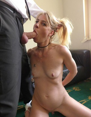 Blonde amateur Jentina Small makes her porn debut with anal fuck