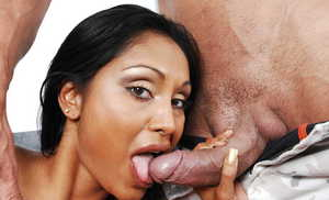 Indian housewife Priya Anjali Rai is horny for her husband's cock and cum