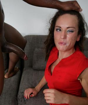 Brunette female Nataly Gold is game for a hardcore interracial fuck