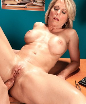 Naughty cougar Jenny Mason works her seduction magic on a younger bboy