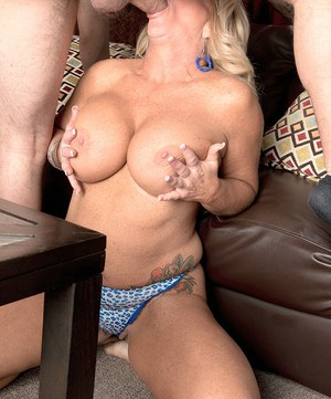 Hot grandmother Zena Rey takes her stepgrandson's virginity