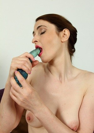 Achieves orgasm satisfying herself with fingers 9
