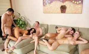 Swingers swap sex partners at will while getting their fix