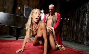 Older female Brandi Love gets fucked hard during cosplay games