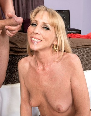 Older lady Phoebe Page does anal sex with the neighbour's boy