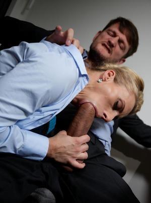 Classy MILF Brittany Bardot takes it in the ass from chief of security