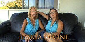Mature dykes Erica Lauren & Jessica Devine go down on each others pussy