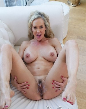 brandi love creampie - None · Busty mature lady Brandi Love shows off her creampie pussy after  fucking ...