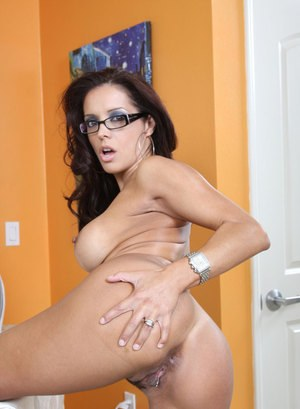 Something mature latina glasses agree